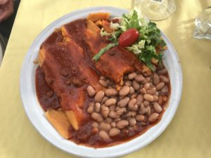Tamales at Rancho de Chimayo Restaurant, New Mexico