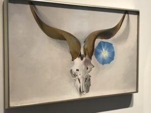 Georgia O'Keefe Museum Painting