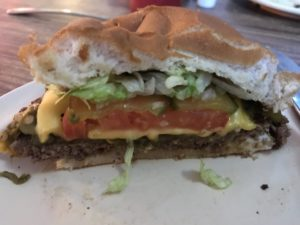 Chile Cheeseburger at the Owl