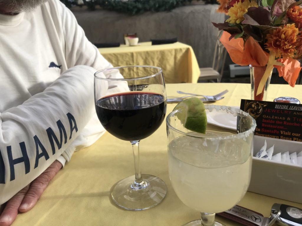 Famous Margarita at Rancho de Chimayo Restaurant, New Mexico
