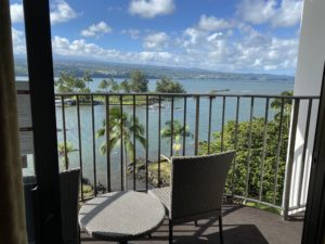 Hilo Hawaiian Hotel Balcony View