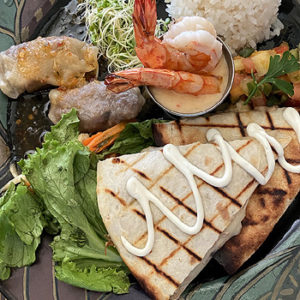 Fresh Island Cuisine at Bamboo in Hawi, Hi