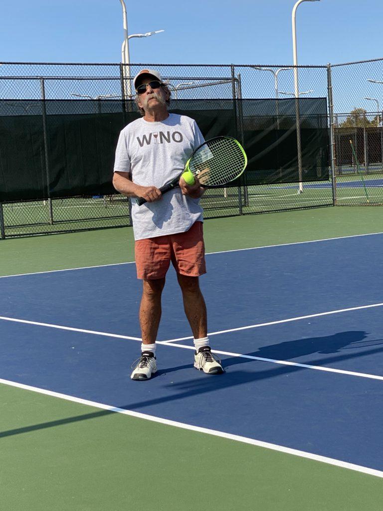 Wino Tennis Player