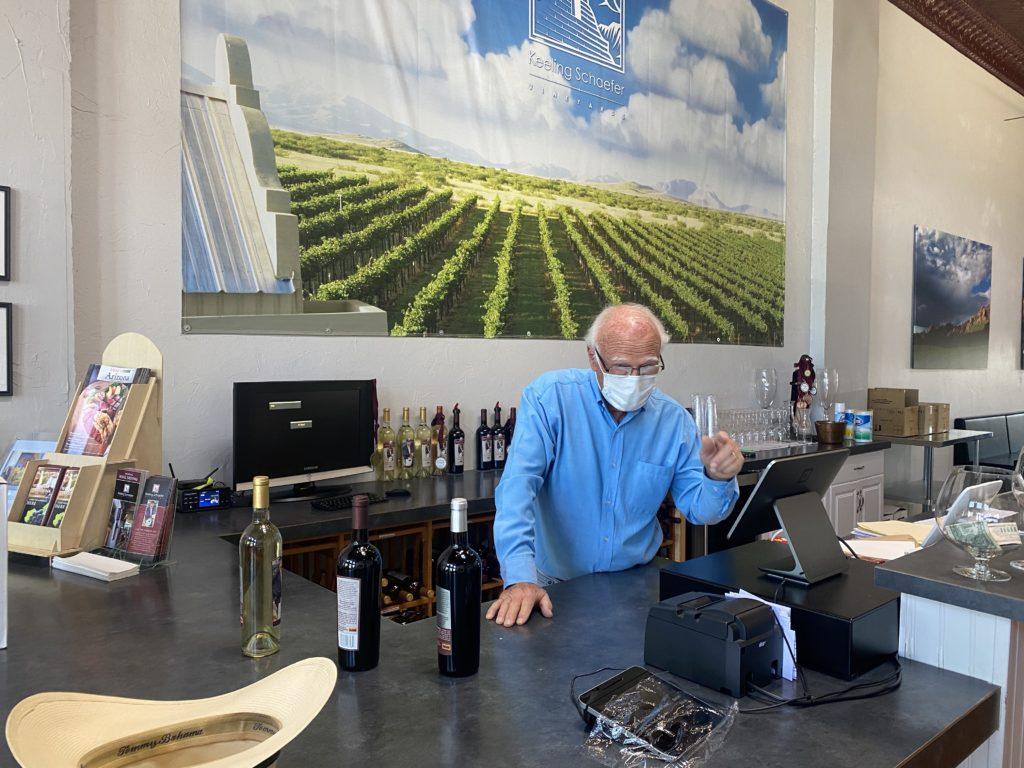 Keeling Schaefer Tasting Room Wilcox AZ