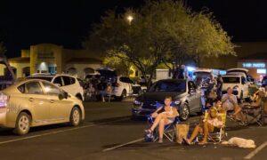 Fans at Gaslight Music Hall, Oro Valley, AZ