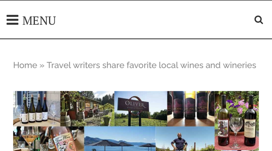 Local Wine and Wineries