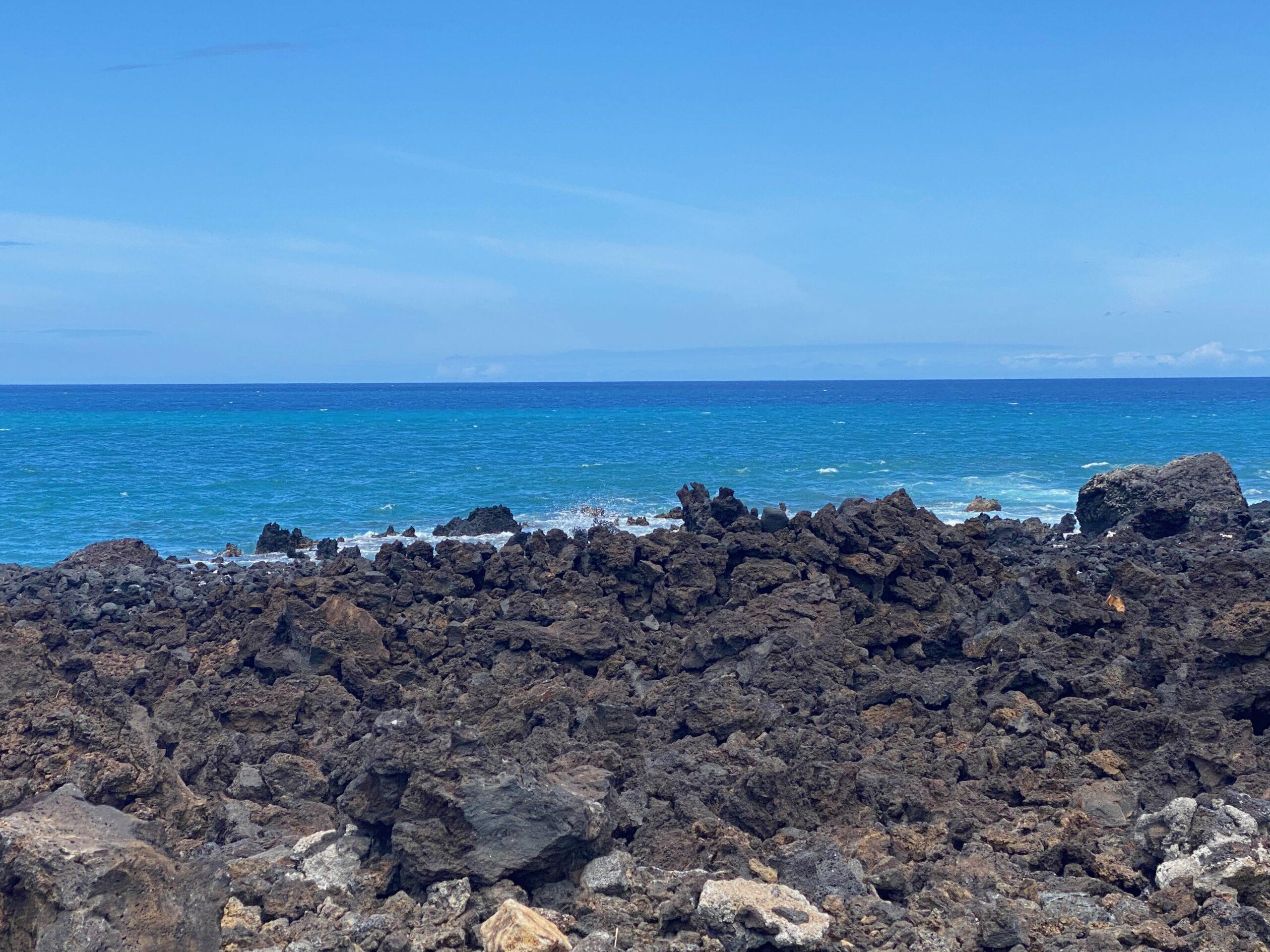 Big Island Black Lava
