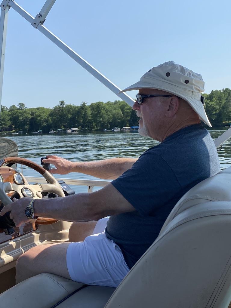 Captain Sandy at Grindstone Lake
