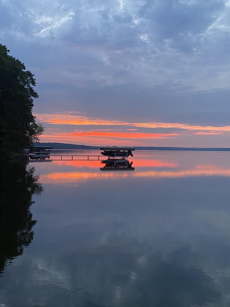 Sunrise at Grindstone Lake