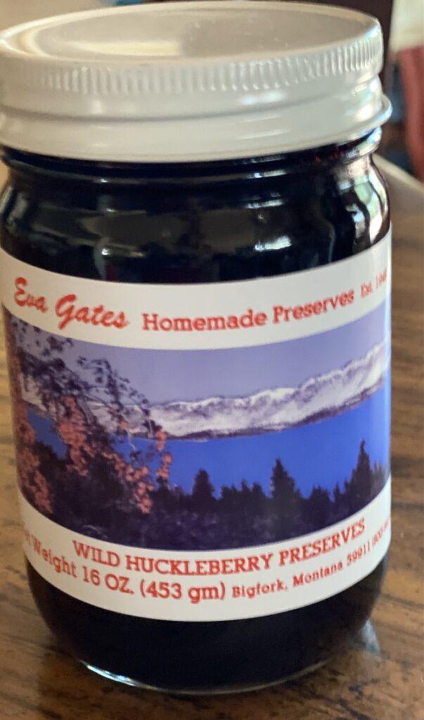 Eva Gates Huckleberry Jam