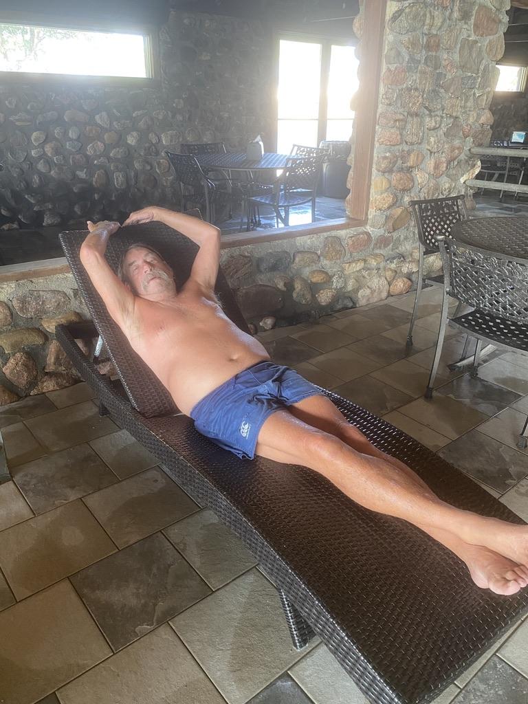 Sleeping Buffalo Hot Springs Deck Chair