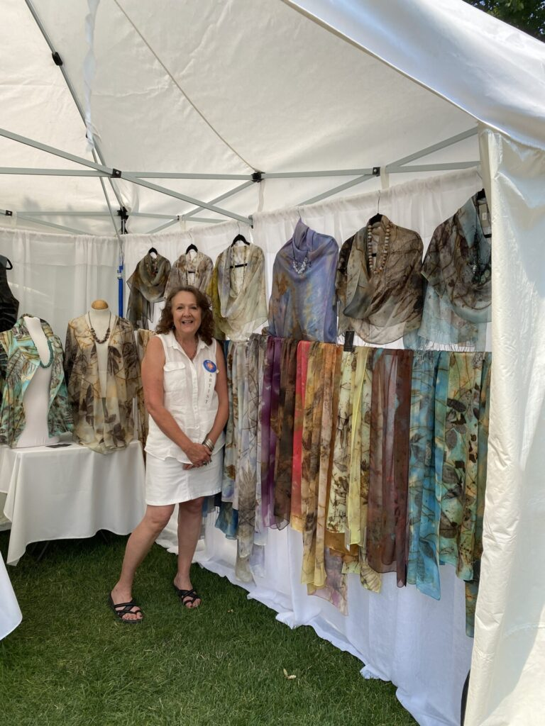 Kalispell Hand Painted Scarves