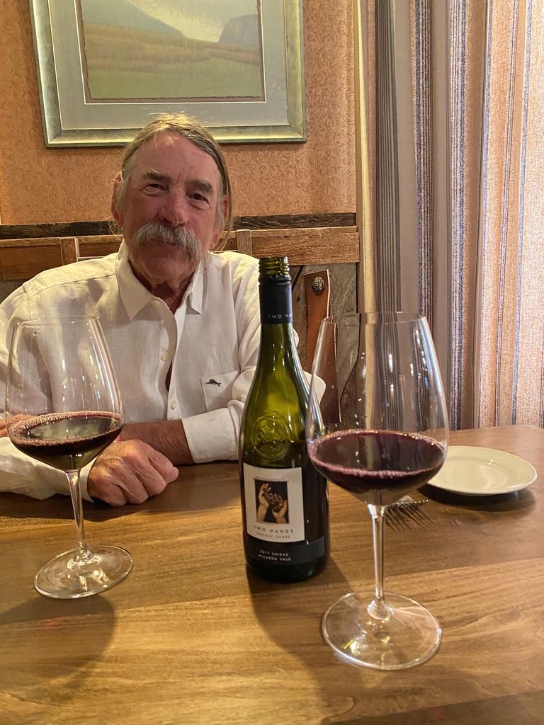 Australian Shiraz Wine at Chico Dining Room