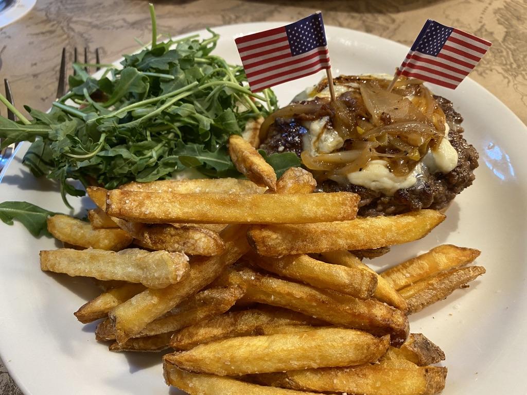 Buffalo Burger at Ted's Montana Grill, Bozeman, MT