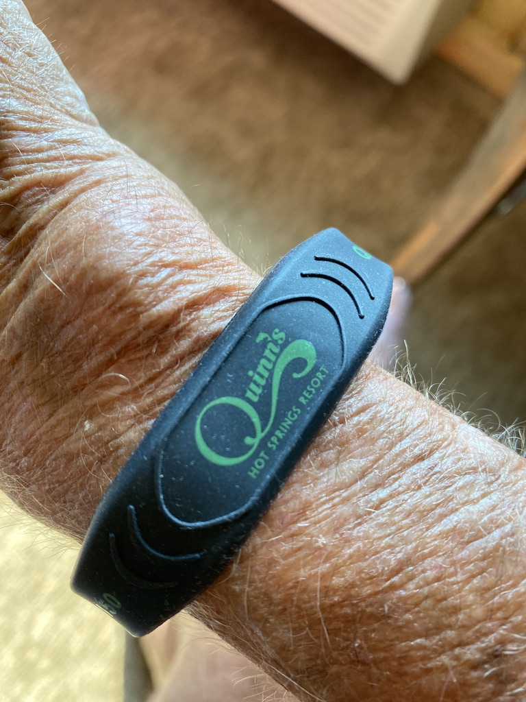 Quinn's Hot Springs Electronic Wristband