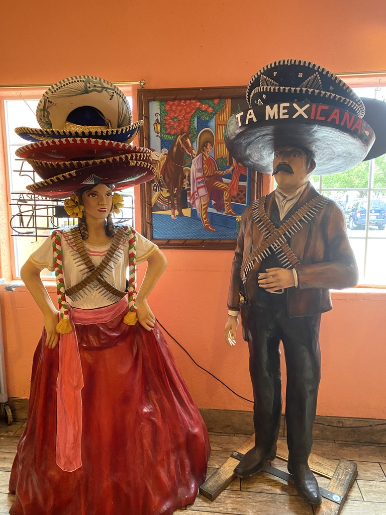 Greeters at Fiesta Mexicana in Moab UT