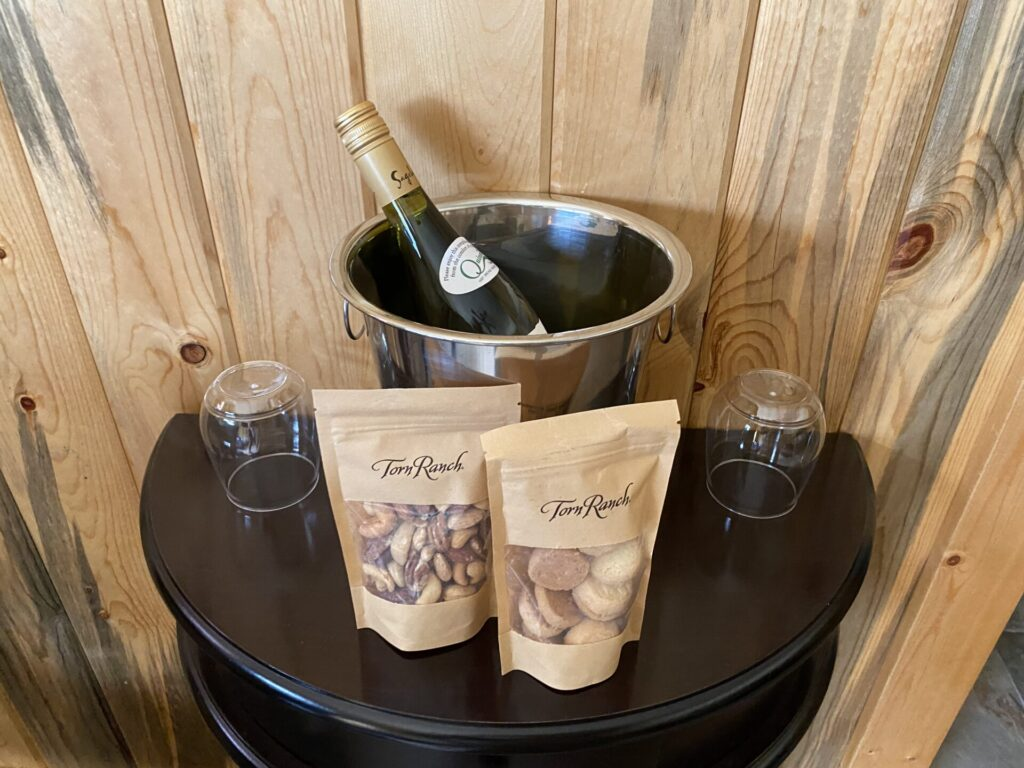 Welcome Amenities at Quinn's Hot Springs