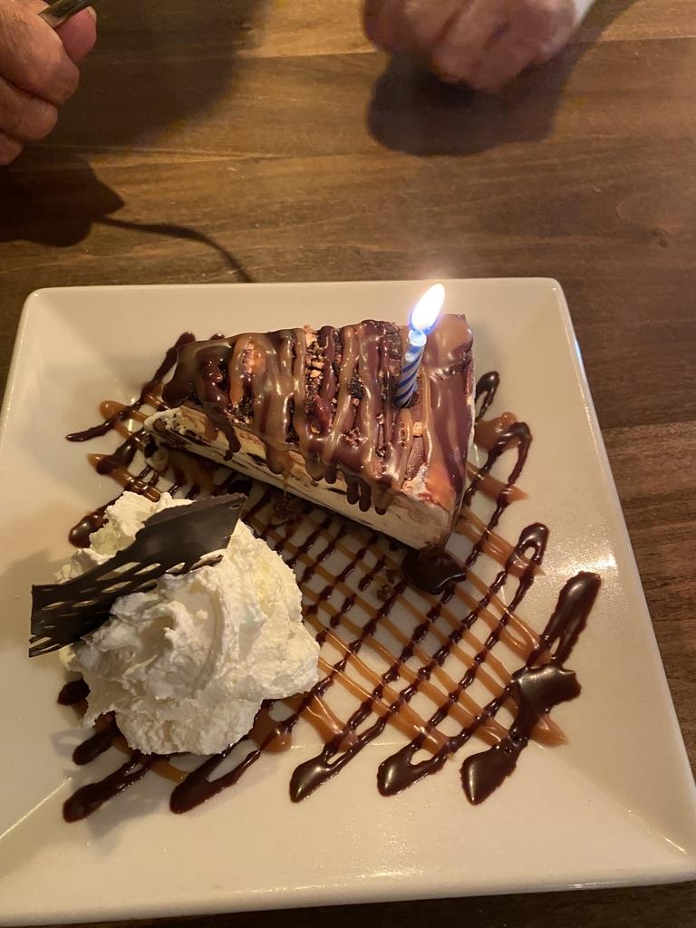 Chico Restaurant Birthday Dessert