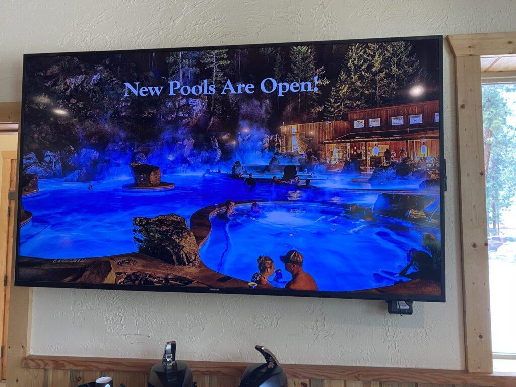 Quinn's Hot Springs, Paradise, MT
