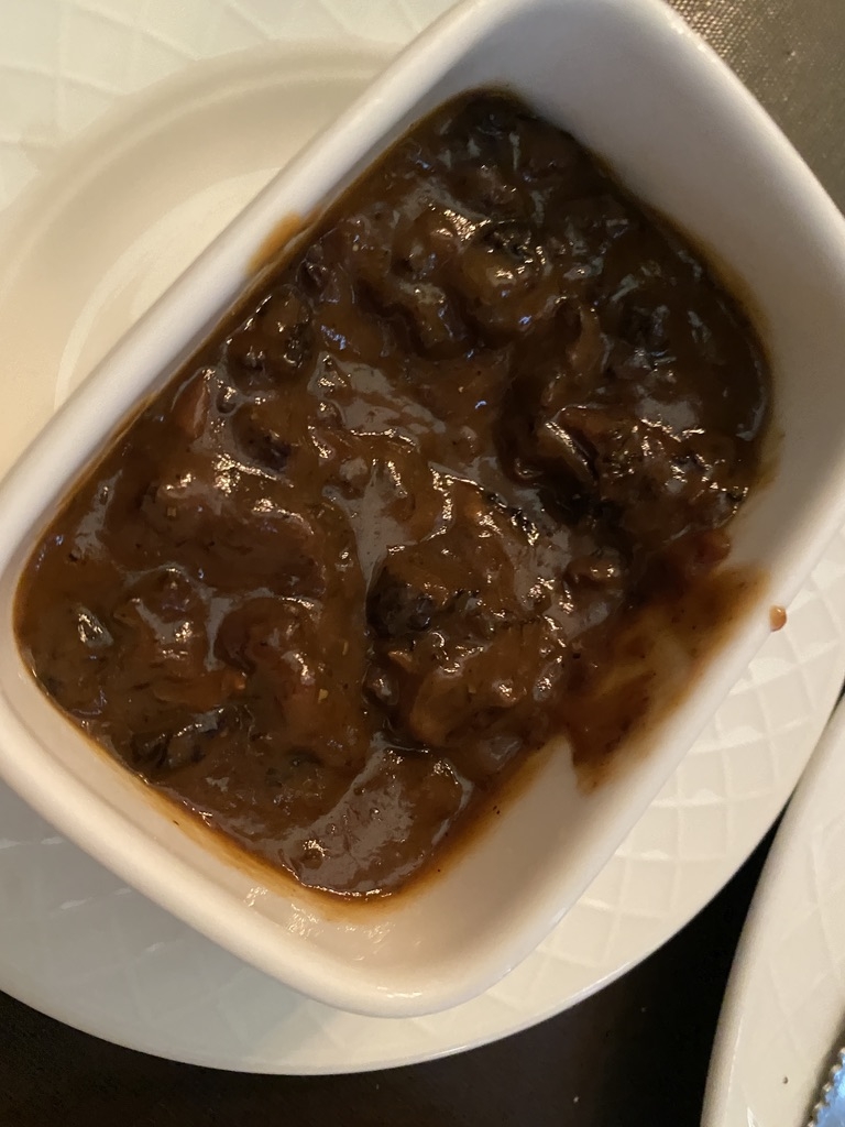 Sacajawea Hotel Pompey's Grill Morel Mushroom Brandy Cream