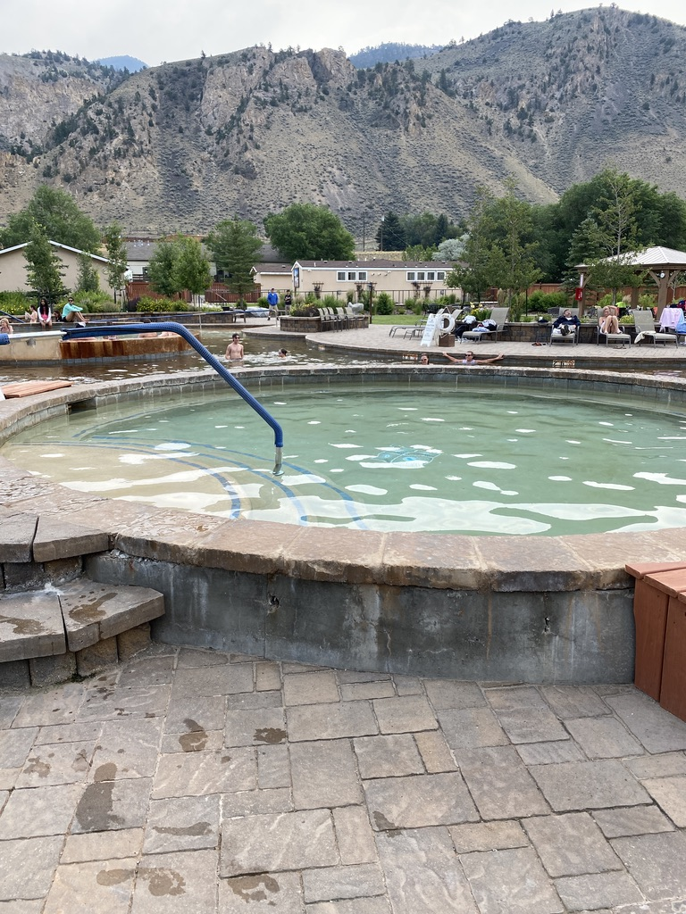 Yellowstone Hot Springs Cold Plunge