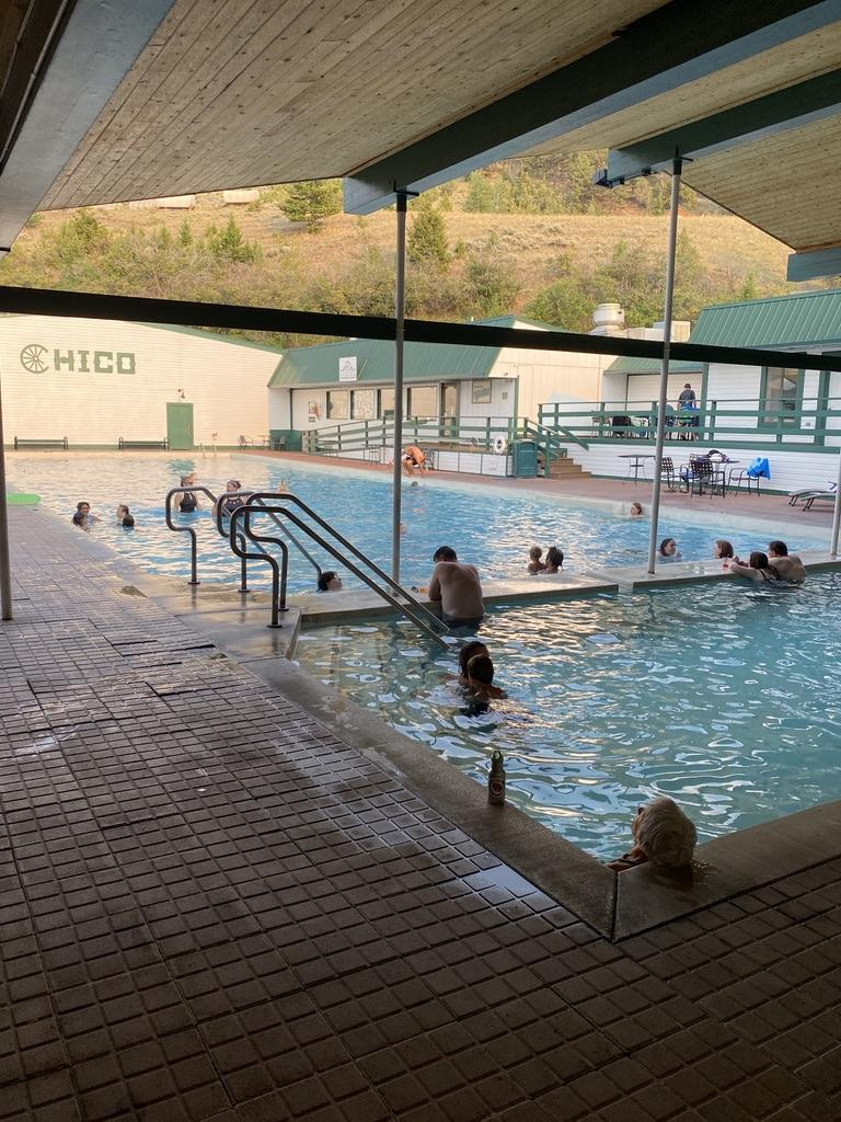 Chico Hot Springs Pools, Pray, MT